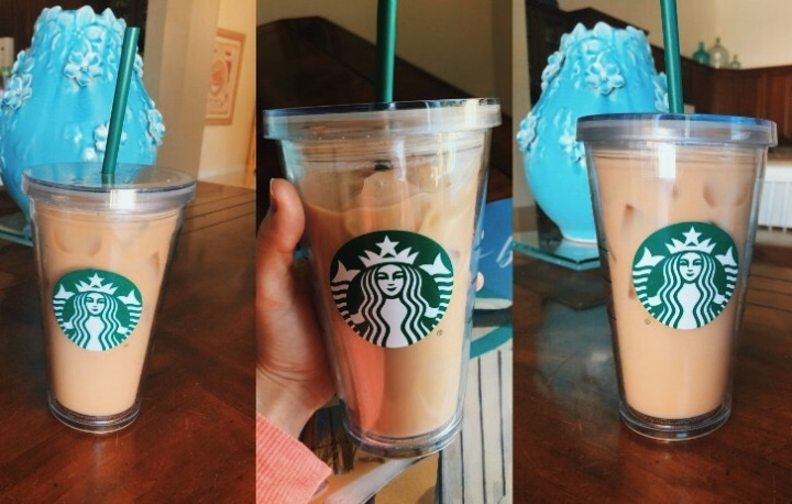 I Made the Perfect Copy Of the Starbucks Iced Vanilla Latté.