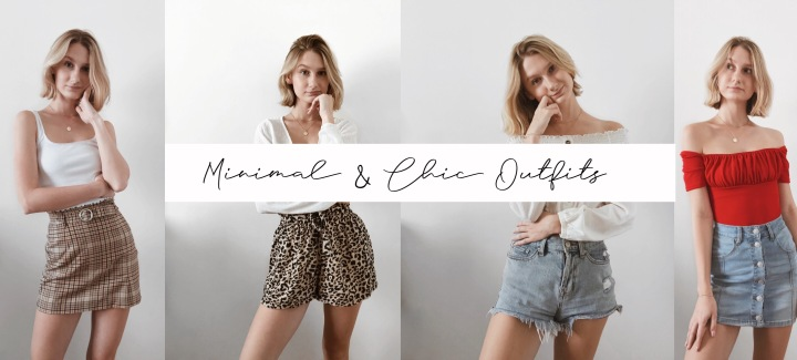 Fashion Formulas: How to Style Minimal & Chic Outfits